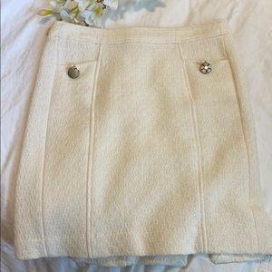 Banana Republic skirt lined